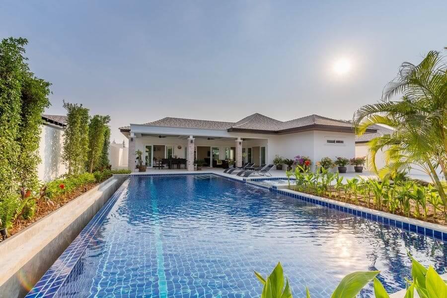 Hua hin orchid villas immobilier thailande tpg for 8 villas hua hin