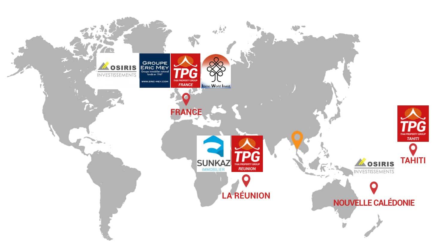 Réseau TPG Monde