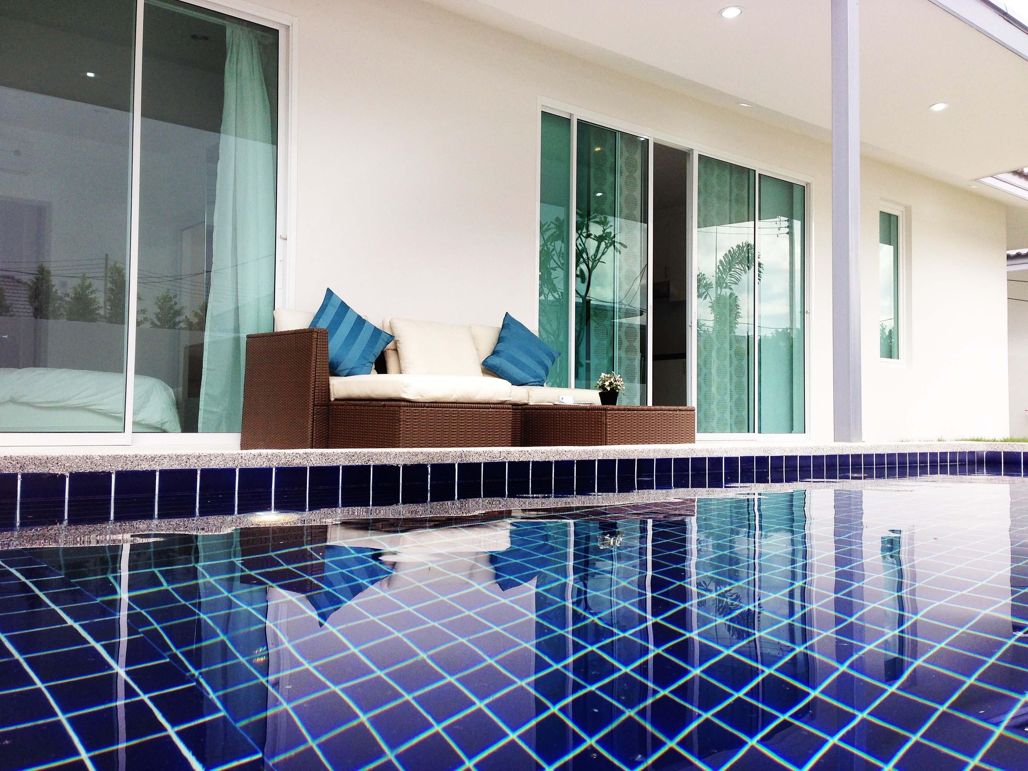 villa avec piscine hua hin immobilier en thailande