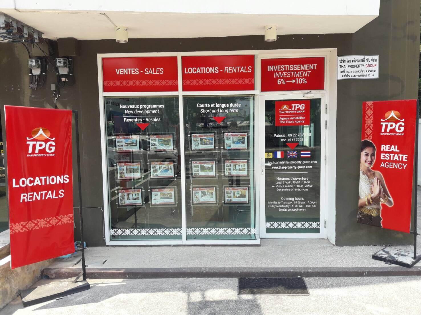 Avec l ouverture de trois nouveaux bureaux thai property - Ouverture bureau de poste paris ...