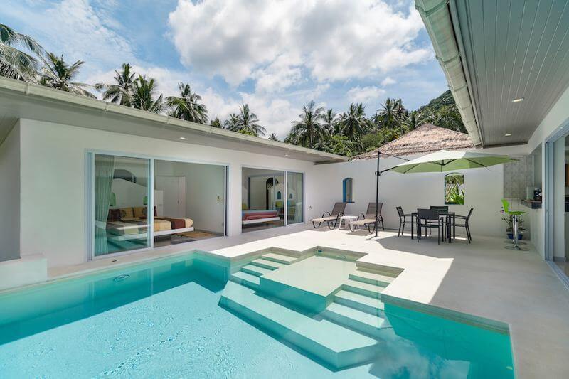 Villa Koh Samui Piscine et studio