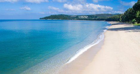 plage et sable blanc