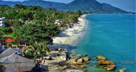 plage de Lamai à Koh Samui